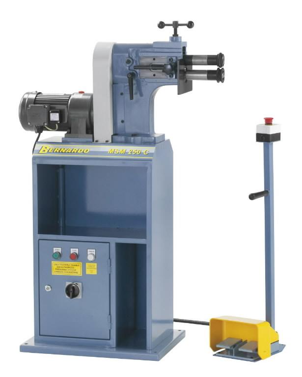 Elektrinės kraštų valcavimo staklės MSM 250 C, Bernardo