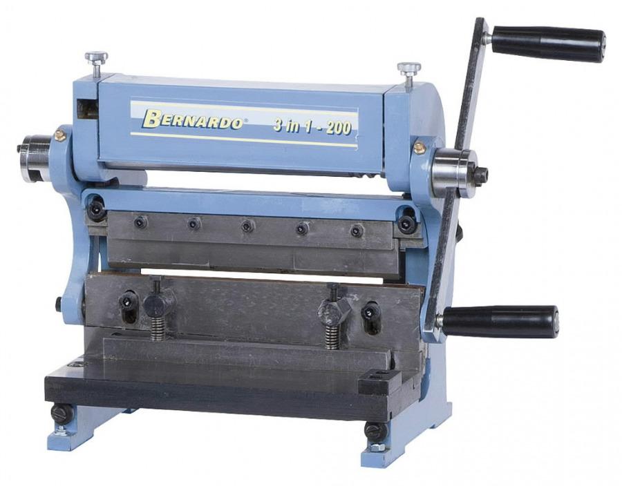 Metallitöötluspink 3-in-1 200, Bernardo