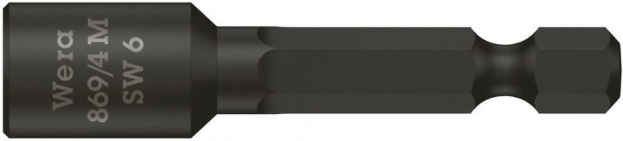 padrunotsak katusele 6mm 869/4M 50mm, magnetiga, Wera