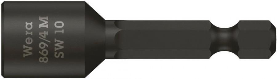 padrunotsak katusele 10mm 869/4M 50mm, magnetiga, Wera