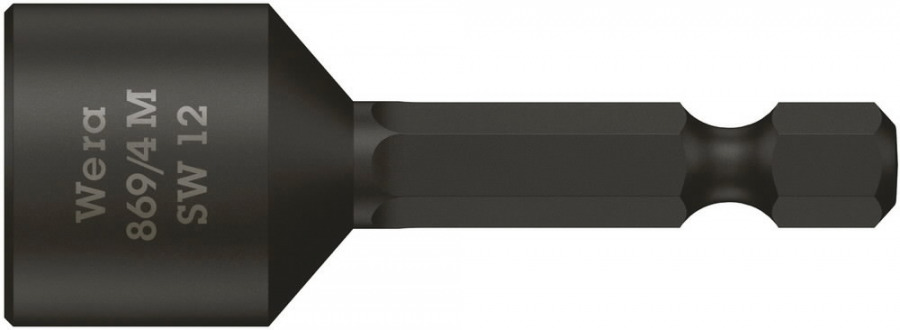 padrunotsak katusele 12mm 869/4M 50mm, magnetiga, Wera