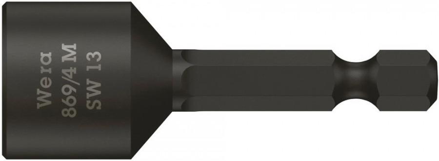 padrunotsak katusele 13mm 869/4M 50mm, magnetiga, Wera