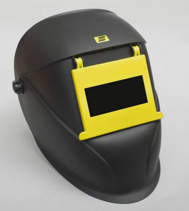 Suvirinimo skydelis Eco-Arc II 90x110mm atverčiamu stikliuku, ESAB