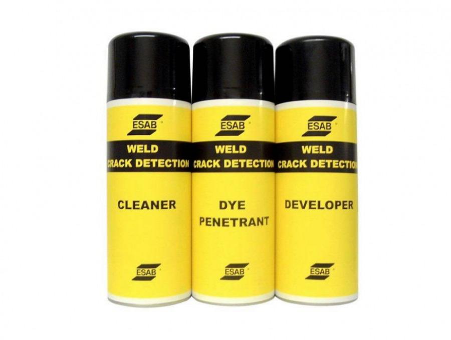NDT Cleaner 300 ml - keevitusõmbluse puhastusaine (värvitu), Esab