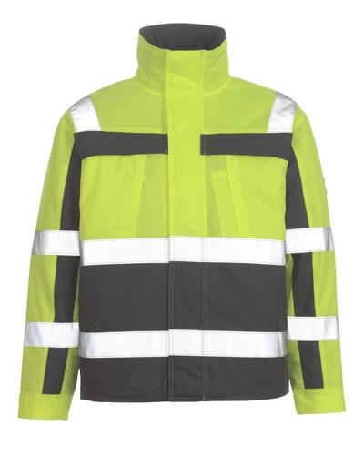 Tööjope talvine Timon kõrgnähtav EN471 kollane/tumehall 2XL, Mascot