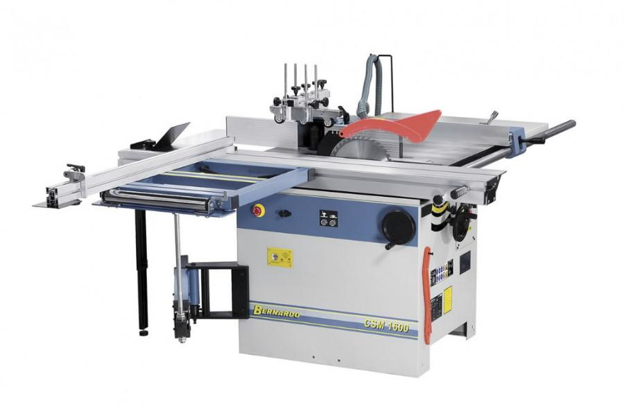 Pjovimo - frezavimo staklės CSM 1600/400V, Bernardo