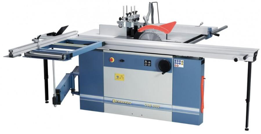Kombineeritud puidupink CSM 2600/400V, Bernardo