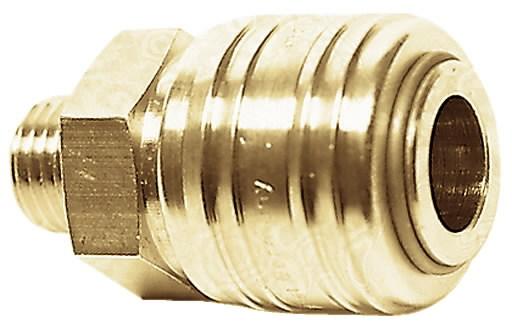 Kiirliitepesa voolikule 6 mm, METABO