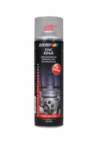 Cinka aerosols ZINC REPAIR, 500 ml, MOTIP