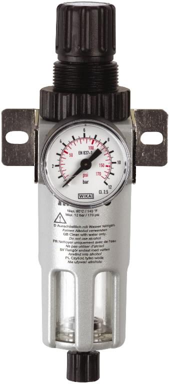 """Filter regulaator FR 180 1/4"""" manomeetriga, METABO"""