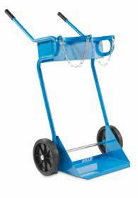 Gas cylinder trolley capacity 200 kg for two, OMCN