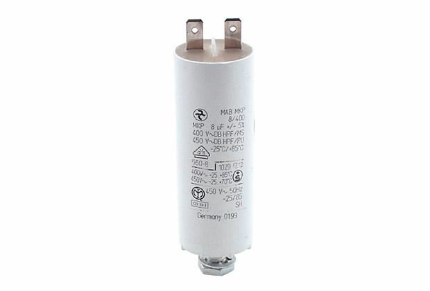 Kondensaator  8uF Flachst., Ratioparts