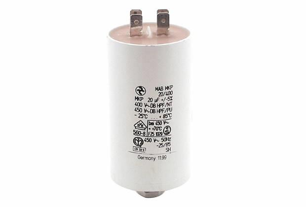 Kondensator 20uF Doppelflachst, Ratioparts
