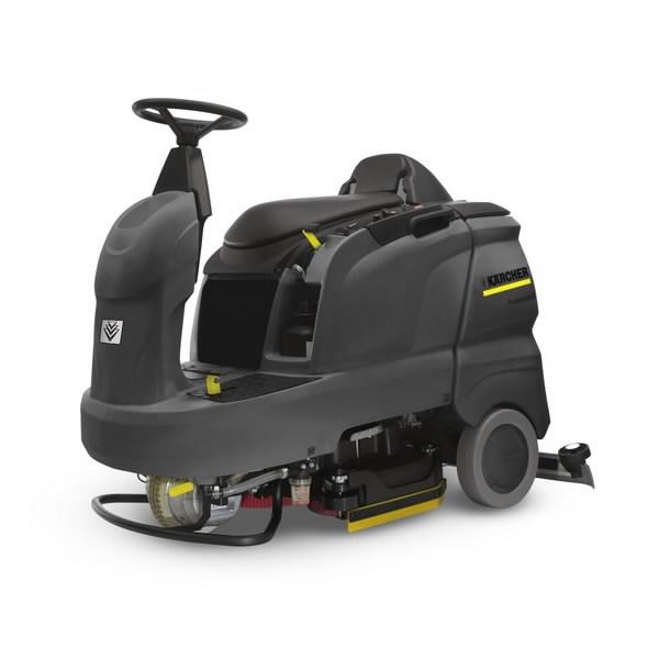 Sėdima grindų valymo mašina B 90 R Adv Bp Pack, Kärcher