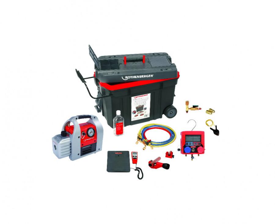 Комлект для чистки и зарядки ROCADDY 120, Rothenberger