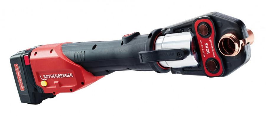 Hidraulinis presas ROMAX 4000 komplektas M15-22-28mm, Rothenberger