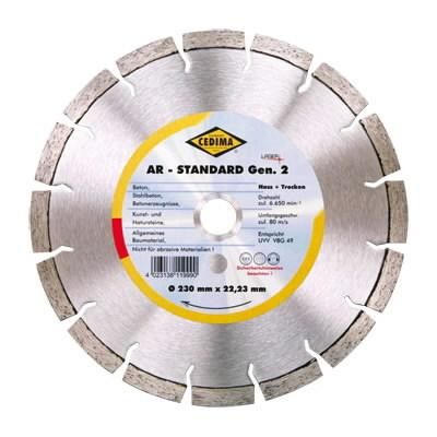 1514342534 Deim. pjovimo diskas 350mm AR-STANDARD G, Cedima