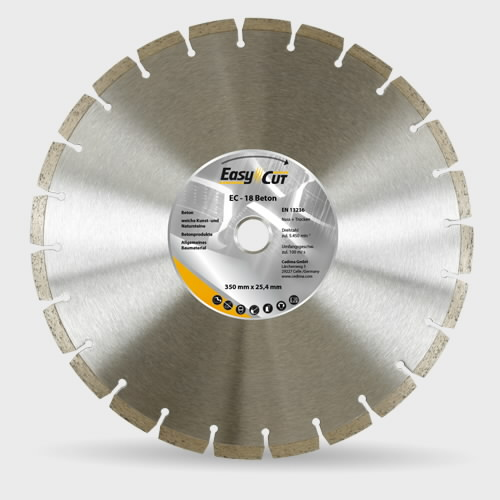 Deim.diskas 125x22,23 EC-18 Beton 1061, Cedima