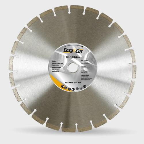 Deim. pjovimo diskas  300mm EC-18; 25,4 2,8x10x37mm, Cedima