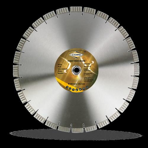 Deim. pjovimo diskas  450 mm Super Silent Granit 25,4 4 x 12, Cedima