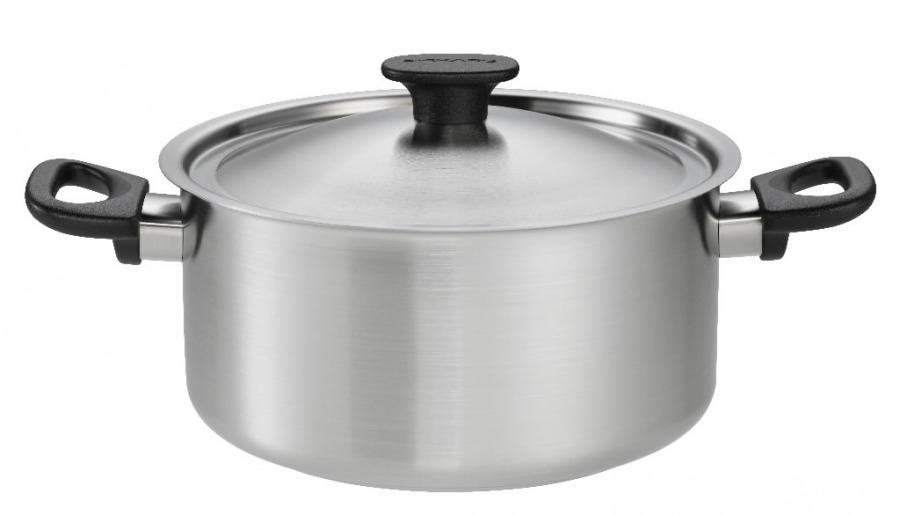 Casserole 3,0L, stainless steel, Fiskars
