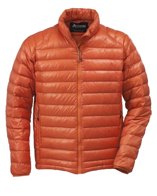 Demisezoninė striukė 1439 oranžinė, ACODE