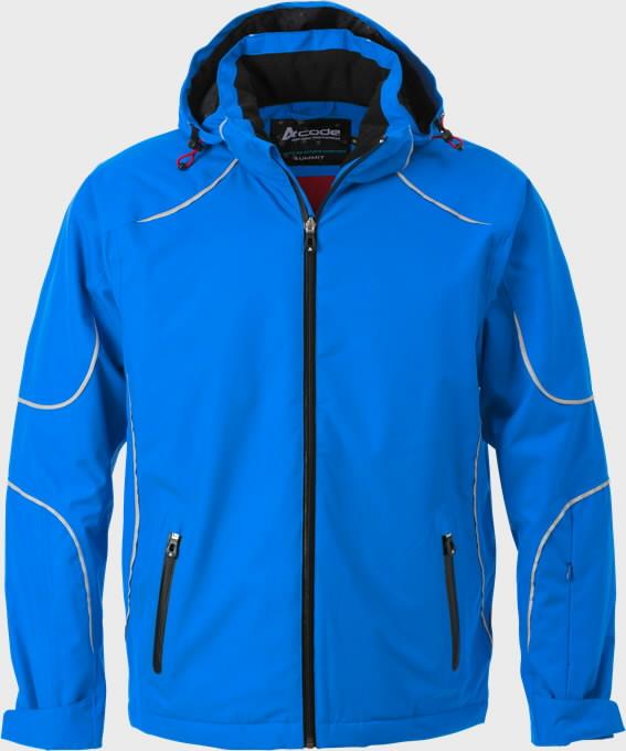 Žieminė striukė  1407 mėlyna L, Acode