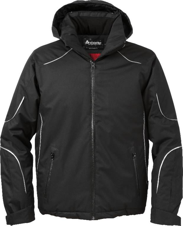 Žieminė striukė  1407 juoda, Acode