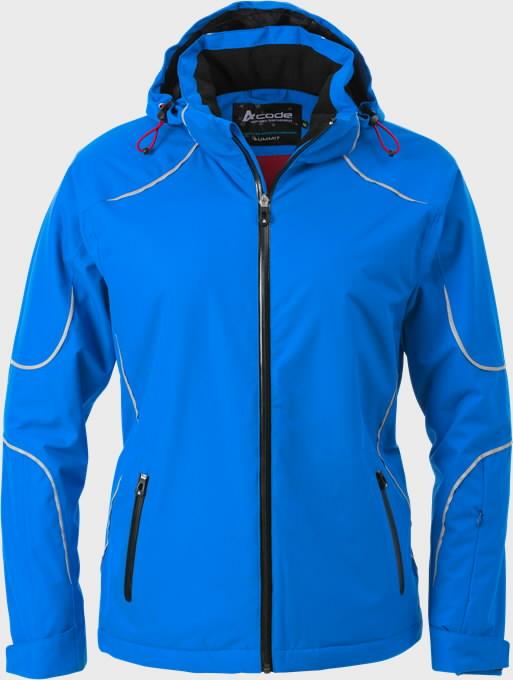 Žieminė striukė moteriška 1408 mėlyna, Acode