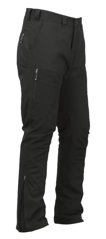 Softshell kelnės 1255 juoda, L, Acode