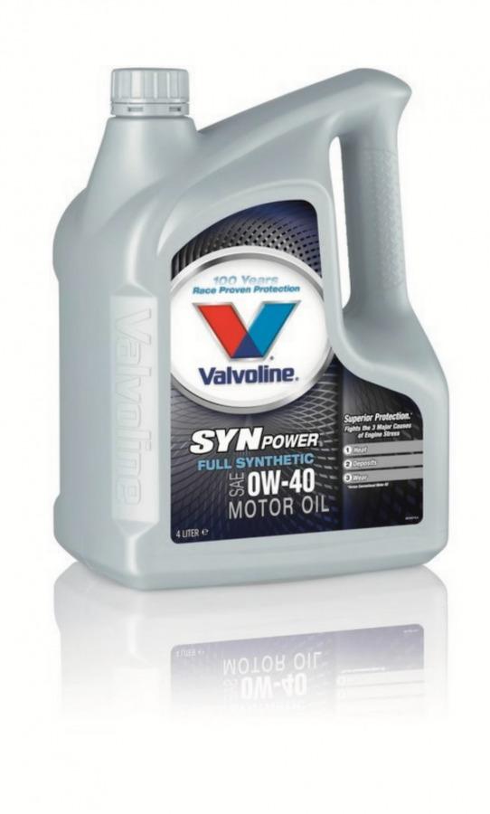 Alyva varikliui SYNPOWER 0W40 4L, Valvoline