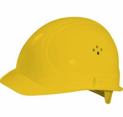 Apsauginis  šalmas, geltonas, KS tools