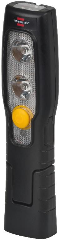 LED akulamp 2+3LED, tööaeg 2,5h, Brennenstuhl