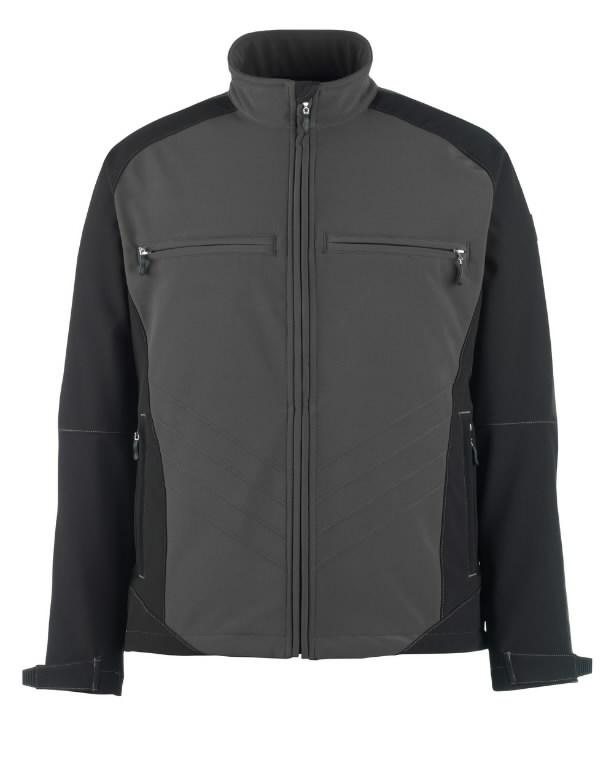Dresden softshell elastinga striukė, , juoda/antracitas, XL, Mascot