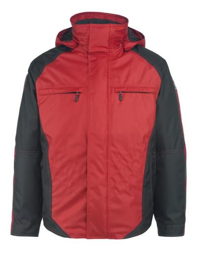 Žieminė striukė Frankfurt raudona/juoda 4XL, Mascot