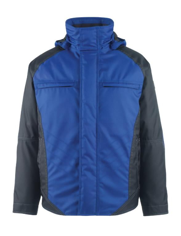 Žieminė striukė su gobtuvu Frankfurt mėlyna/t.mėlyna, Mascot