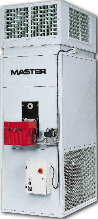 Stacionarus dyzelinis šildytuvas 122,3 kW BI 120 IVD, Master