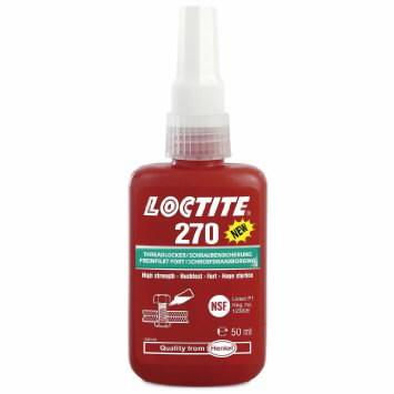 Sriegių fiksavimo klijai (didelio stiprio) LOCTITE 270 50ml, Loctite