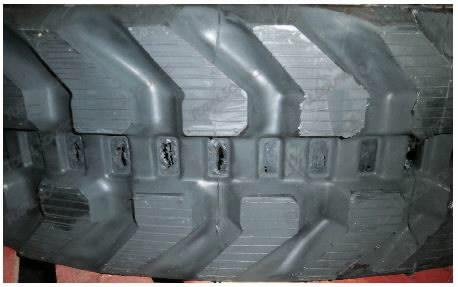 Kummiroomik 300X52,5X78, TVH Parts