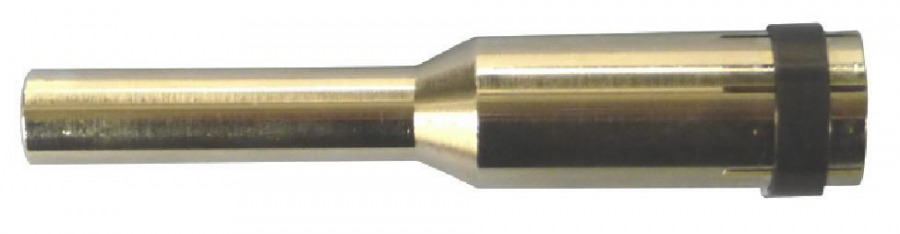 Gas nozzle long, NW12  l=128mm for MB401/501, Binzel