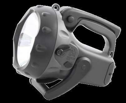 Žibintuvėlis MissionCop 3, juodas, pakraunamas, 50W, Other
