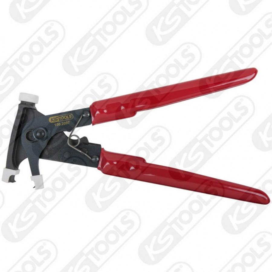Adhesive balancing wheel weight removing plier, 225mm, KS tools