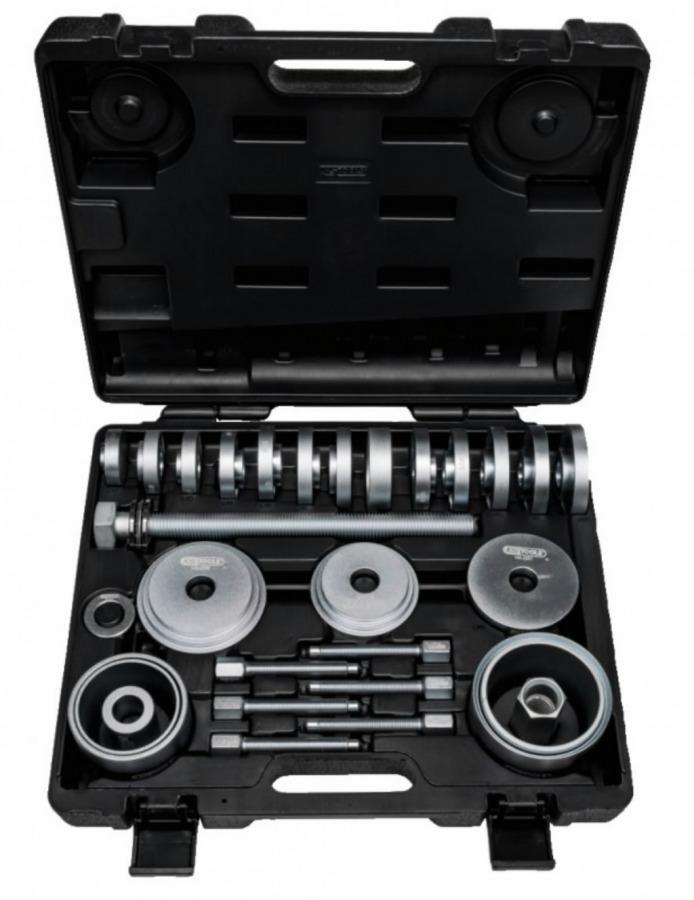 Įrankių komplektas guolių išėmimui 27-vnt, KS tools
