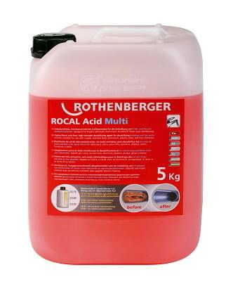 lubjakivi(katlakivi)eemaldamise kontsentraat 5kg ROCAL Multi, Rothenberger