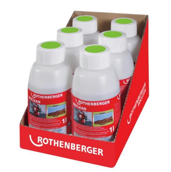 keemia põrandakütte süsteemi puhastamiseks 6-pakk, Rothenberger