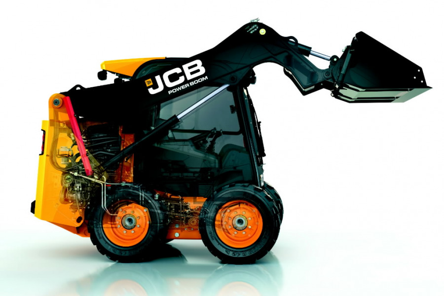 Kompaktlaadur  POWERBOOM 155, JCB
