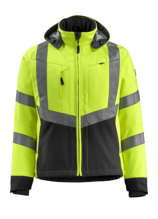 Tööjakk Blackpool Softshell kollane/must XL, Mascot