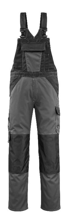 Traksipüksid Leeton tumehall/must 82C46, Mascot