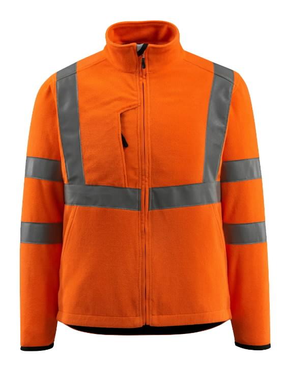 Kõrgnähtav fliisjakk Mildura oranž 4XL, Mascot