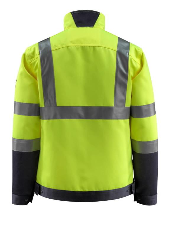 Kõrgnähtav tööjakk Forster kollane/t.sinine L, Mascot